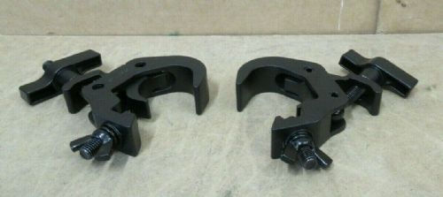 2 x BRITEQ FAST CLAMP Black V2 Mounting Clamp 48mm-51mm 150KG Load